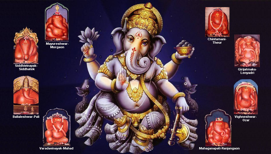 Ashtavinayak Temples List