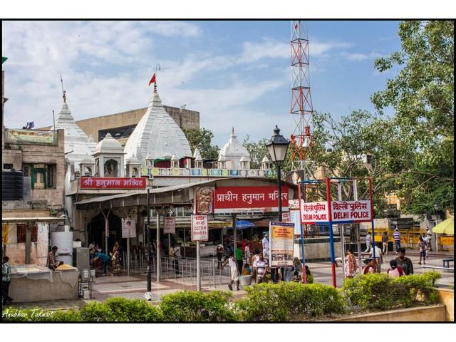 Pracheen Hanuman Mandir Delhi