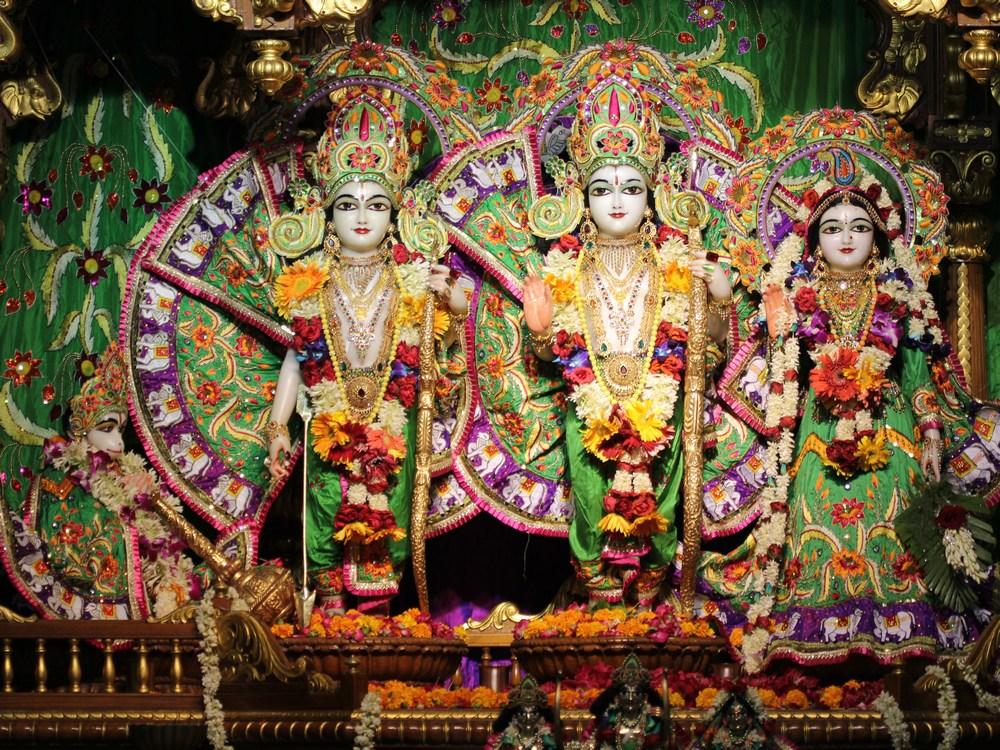 Iskcon-New-Delhi-Sita-Rama-Laxman-Hanuman