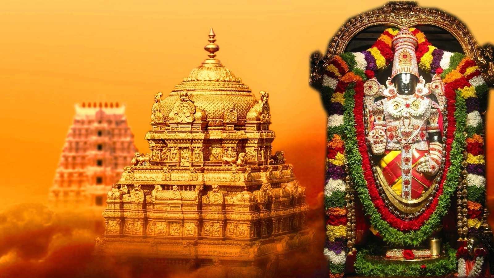 Tirumala Tirupati Venkateswara Swamy Temple - Top Ten Richest Temple