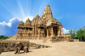 Khajuraho famous temples in India