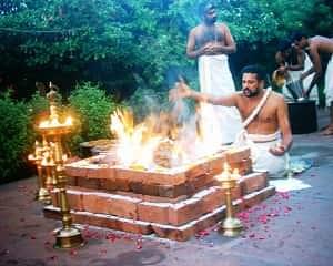 Elaborate Navagraha Homam