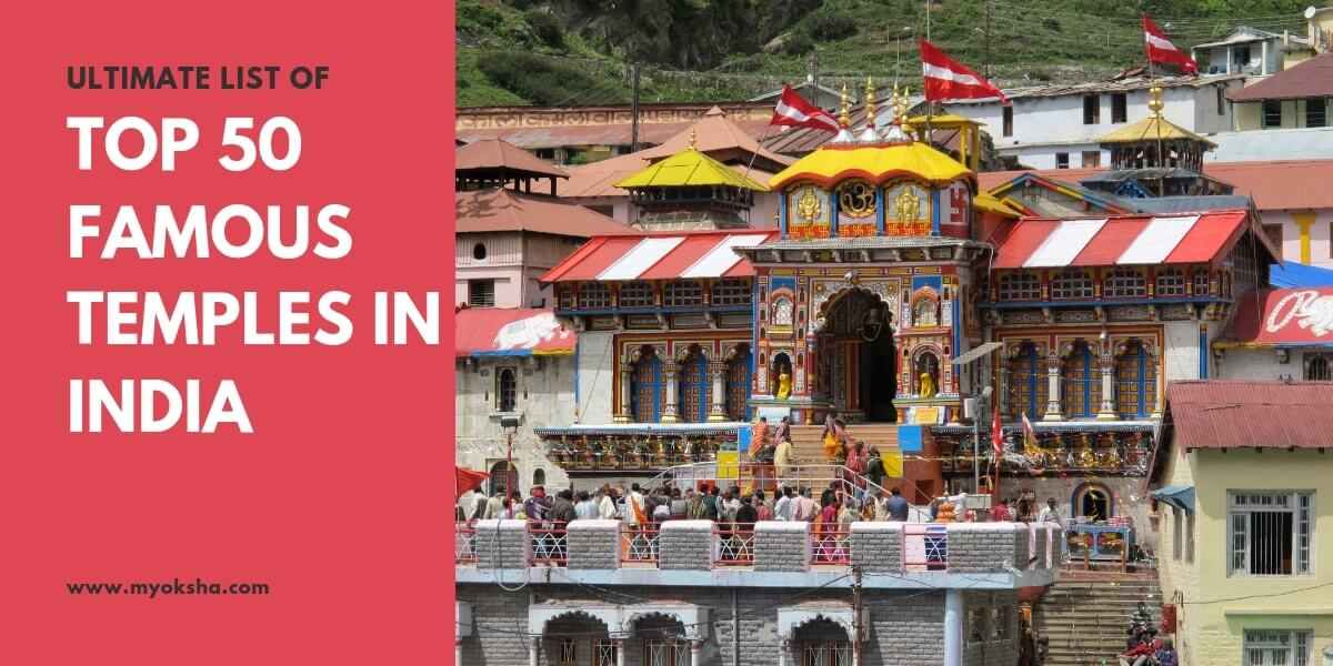 Top 50 famous temples in india