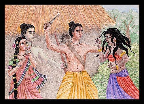 Shurpanakha from Ramayana