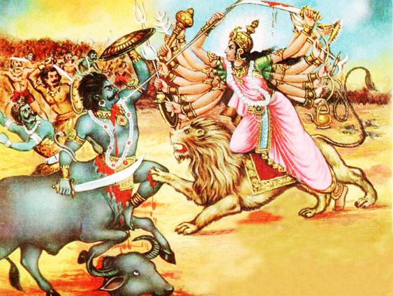 Hindu Demon Mahishasura