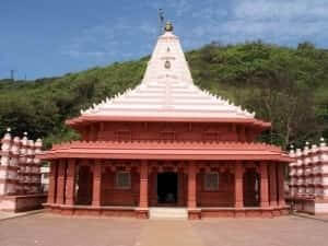 Front view of the temple Ganpatipule