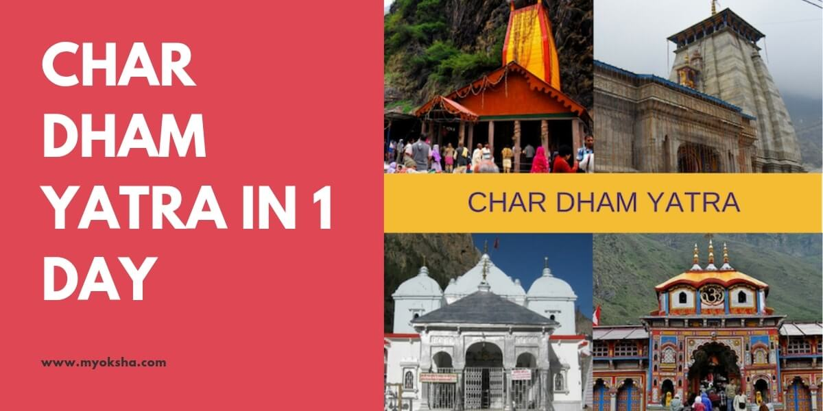 Char Dham Yatra in 1 Day
