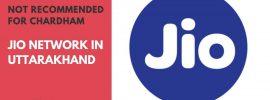 Jio Network in Uttarakhand