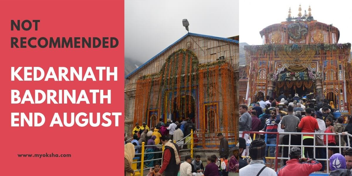 Kedarnath Badrinath August
