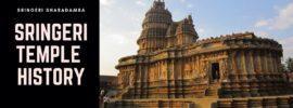 Sringeri Temple History