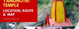 Yamunotri Location, Route & Map