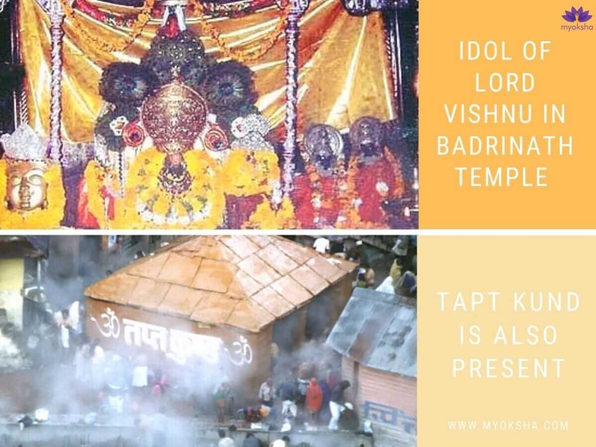 Badrinath Idol and Tapt Kund
