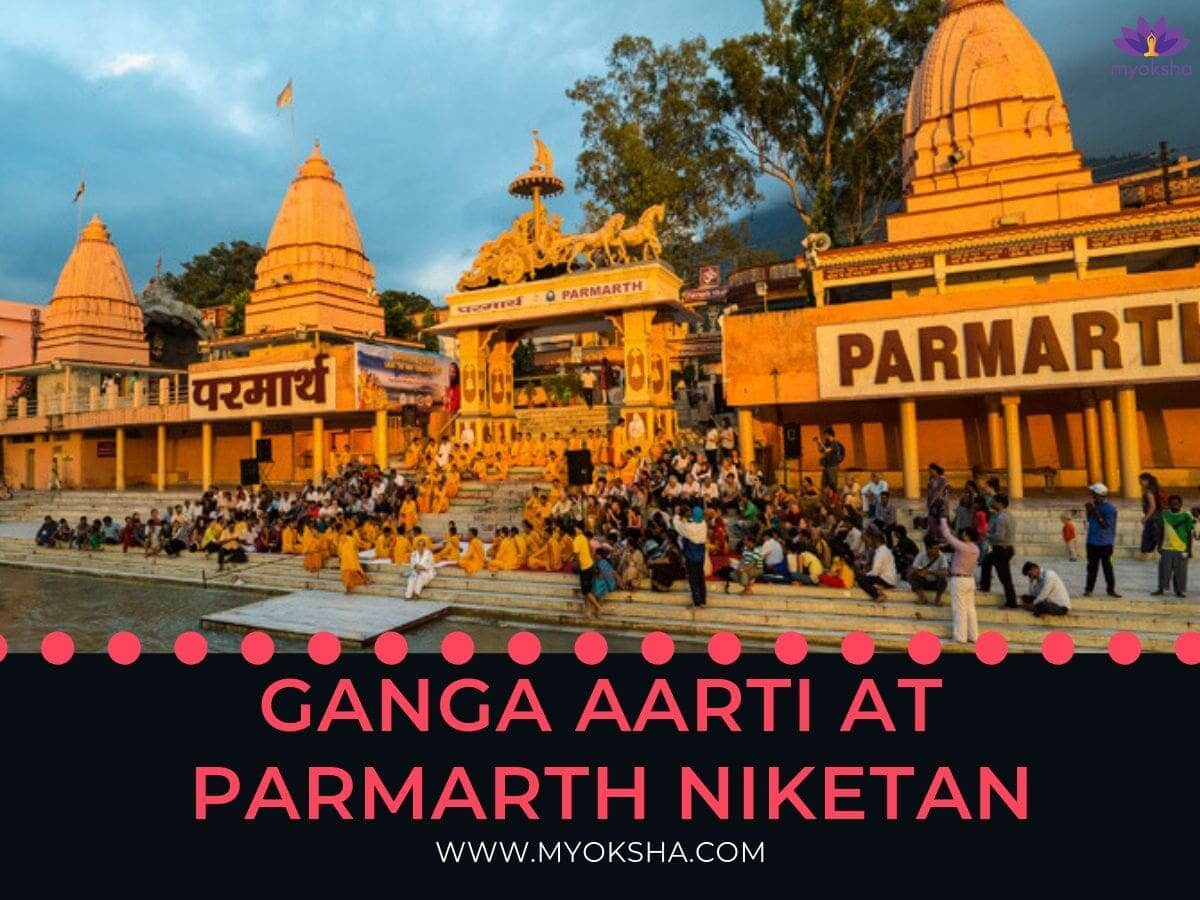 Ganga Aarti At Parmarth Niketan