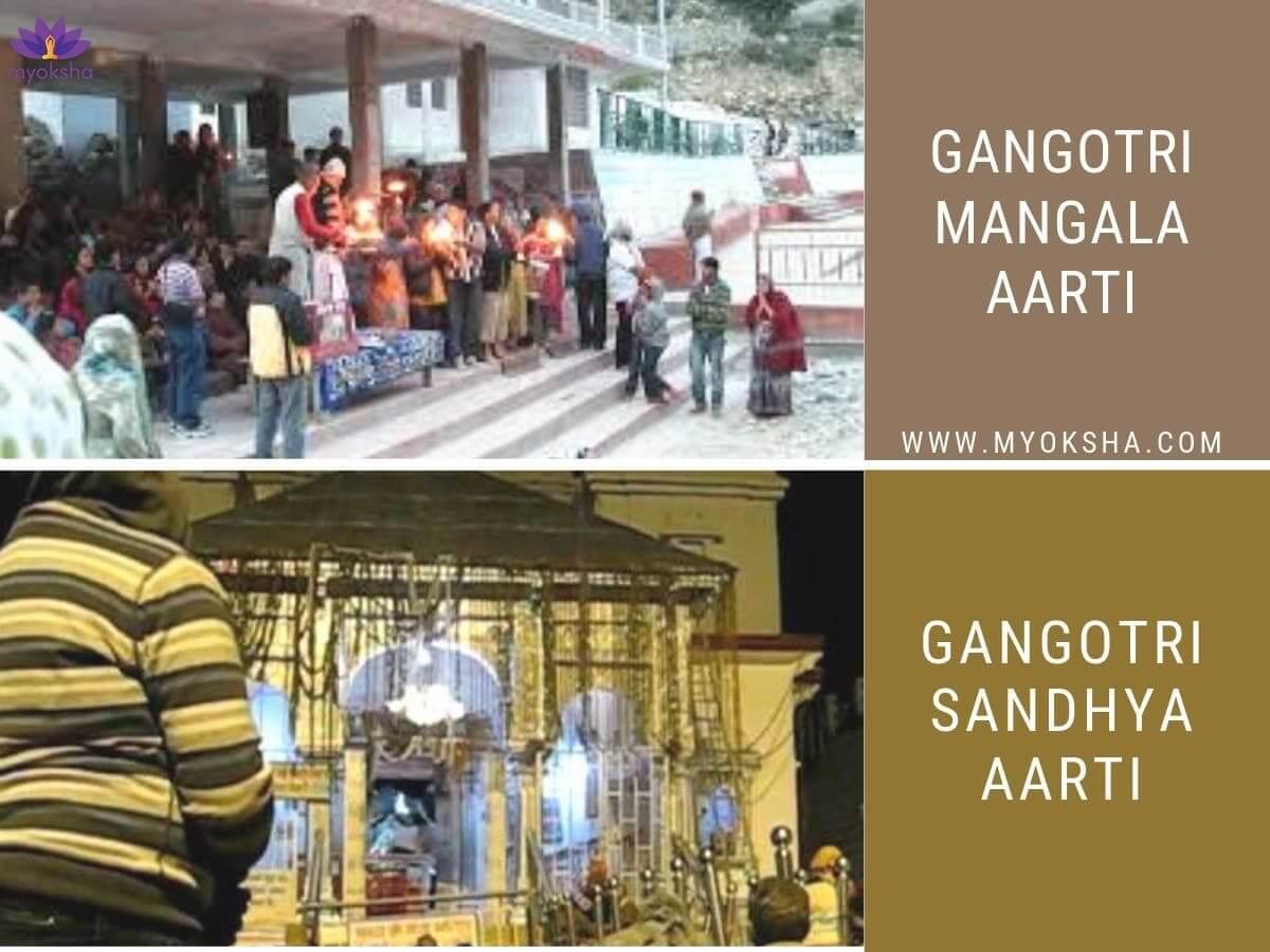 Mangala Aarti & Sandhya Aarti at Gangotri