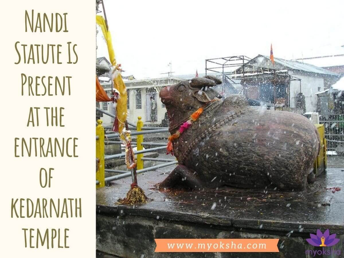 Nandi Statute at Kedarnath