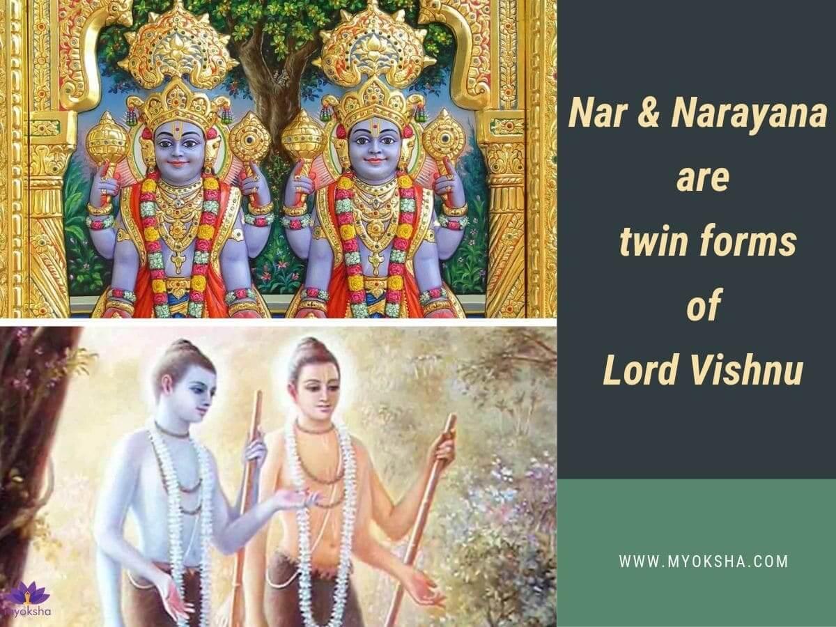 Nar & Narayana - Vishnu's Twin Forms
