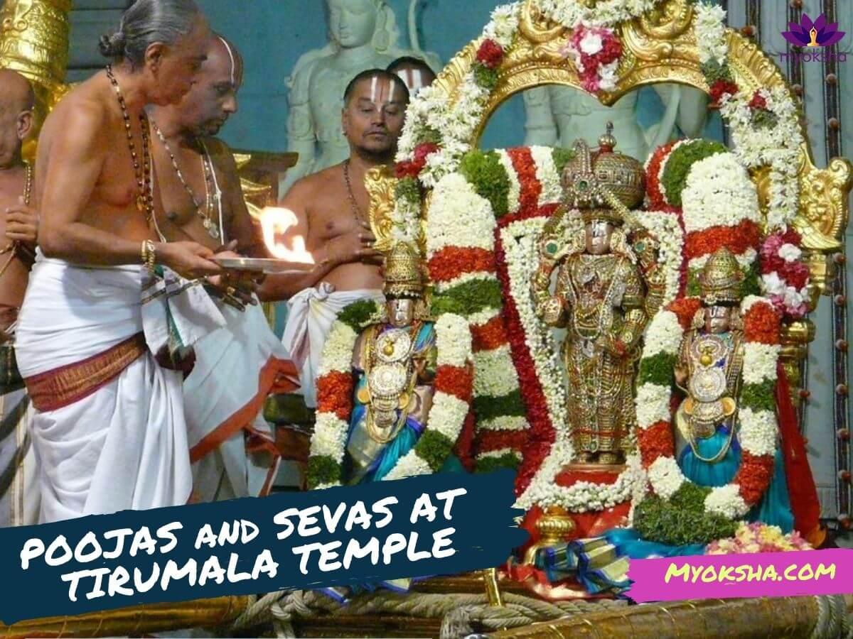 Poojas & Sevas at Tirumala Tirupati Balaji