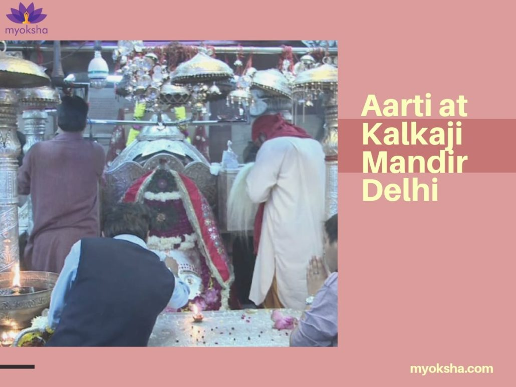 Aarti-at-Kalkaji-Mandir-Delhi