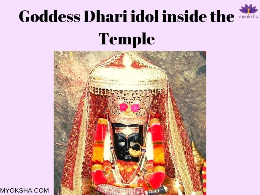 Dhari Devi Idol