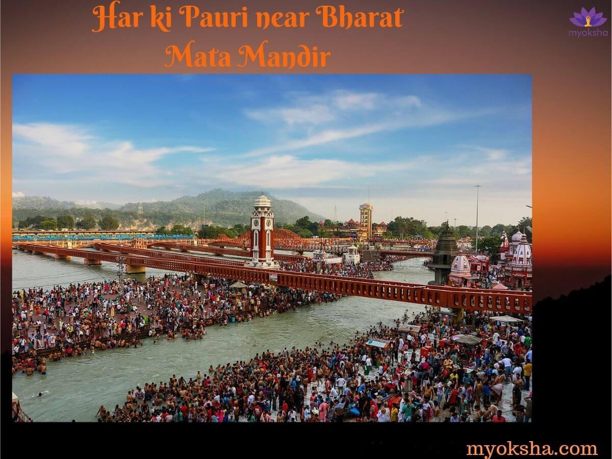 Temples near Bharat Mata Mandir in Haridwar