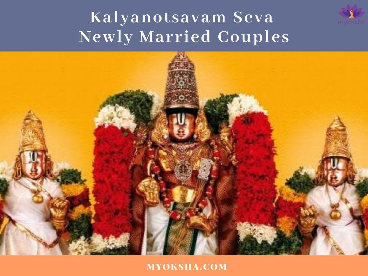 Kalyanotsavam Seva Newly Married Couples