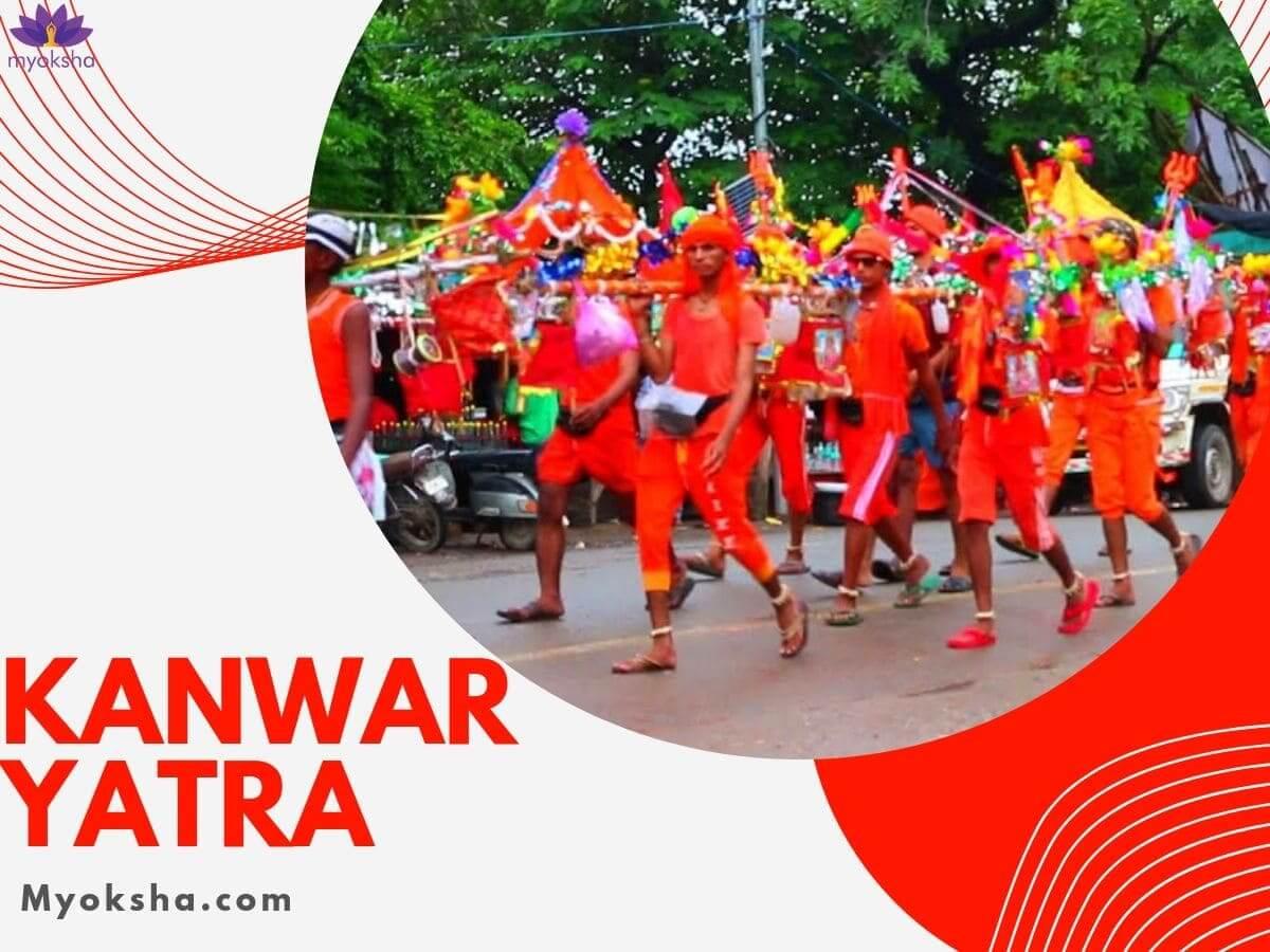 Kanwar Yatra During Shravan Maas