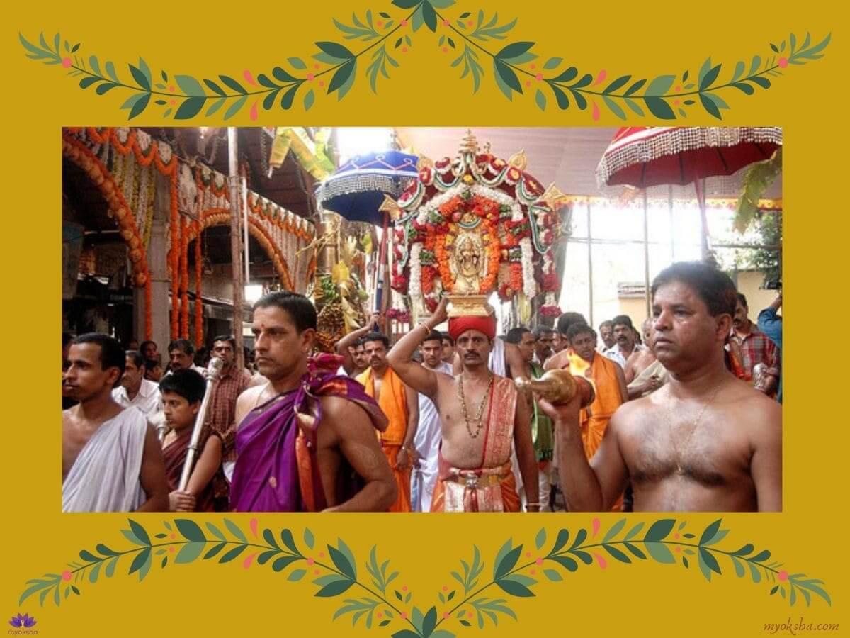 Mangaladevi Temple Pooja