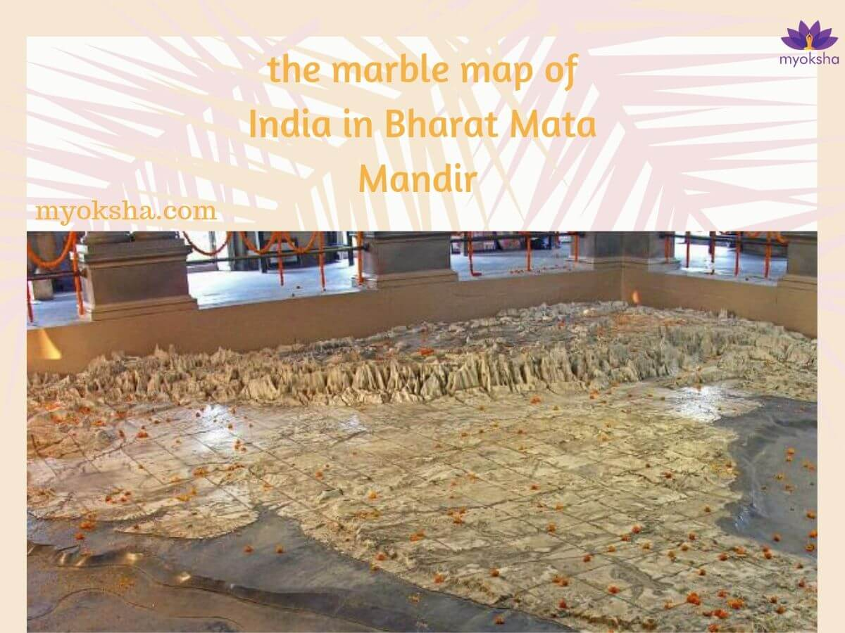 The architecture of Bharat Mata Mandir