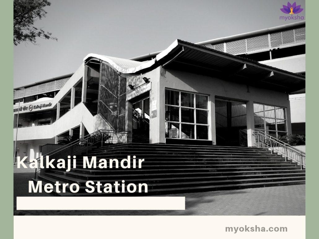 Metro-Station-near-Kalkaji-Mandir-Delhi