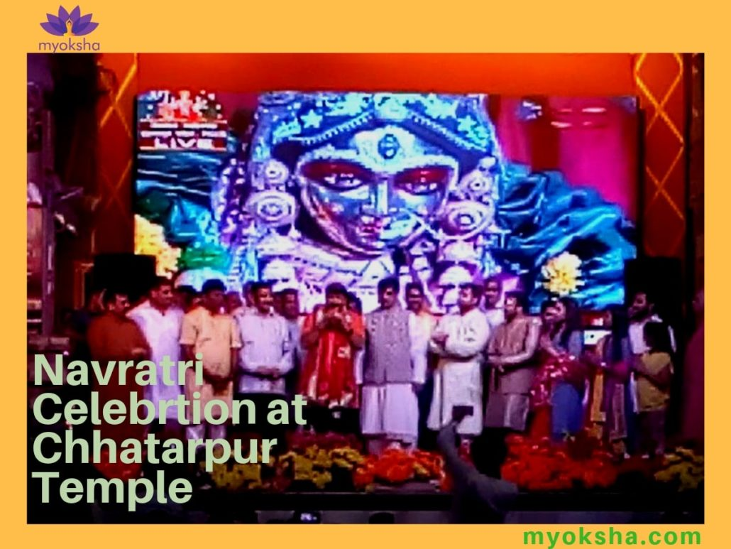 Navratri-at-Chhatarpur-Temple