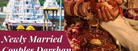 Newly Married Couples Darshan Triumala