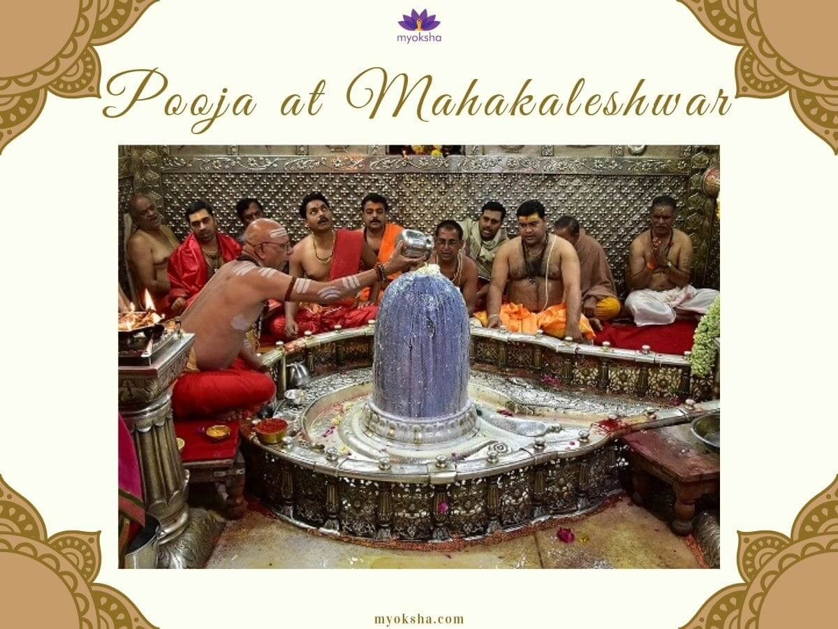 Pooja at Mahakaleshwar