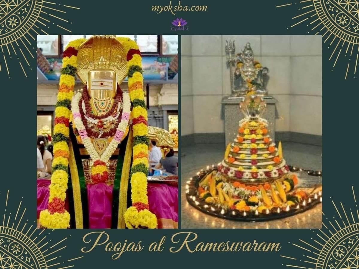Poojas at Rameswaram