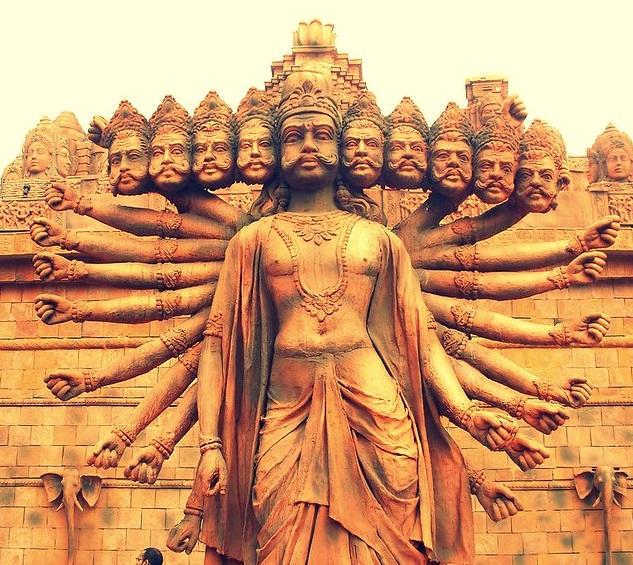 Hindu Demon Ravana