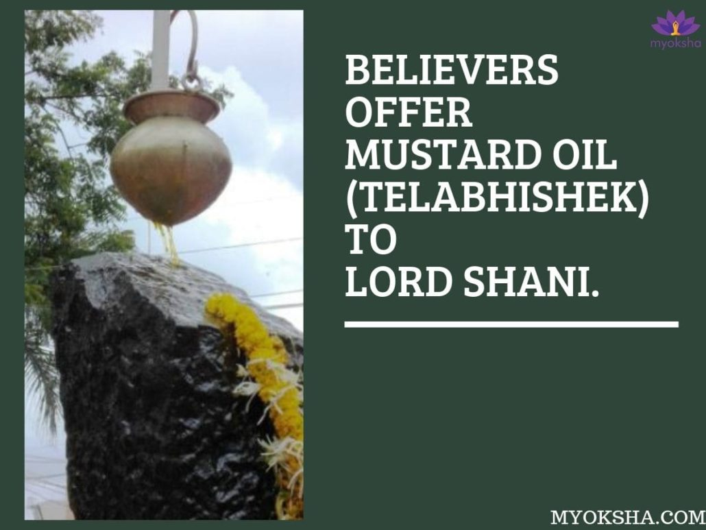 Shani Dham Rituals