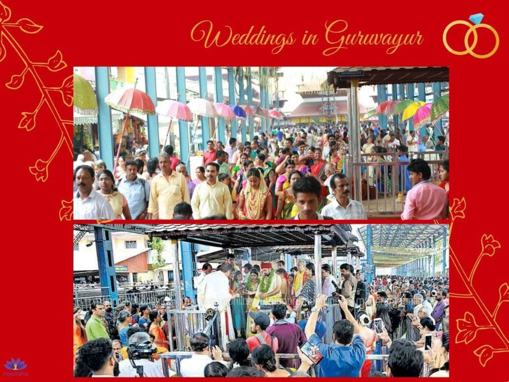 Weddings in Guruvayur