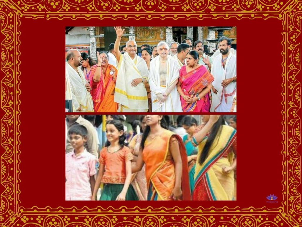 What is the dress code of Guruvayur Temple