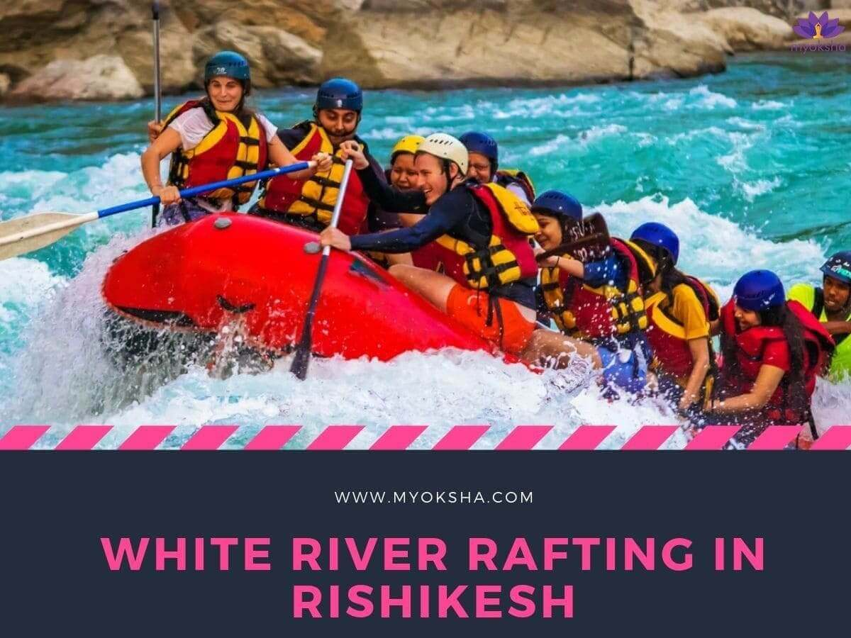 White River Rafting Near Lakshman Temple