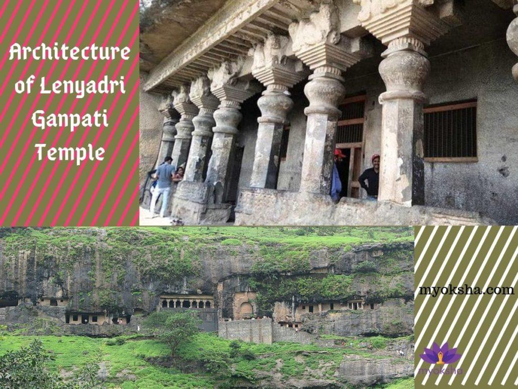 Architecture of Lenyadri Ganpati Temple