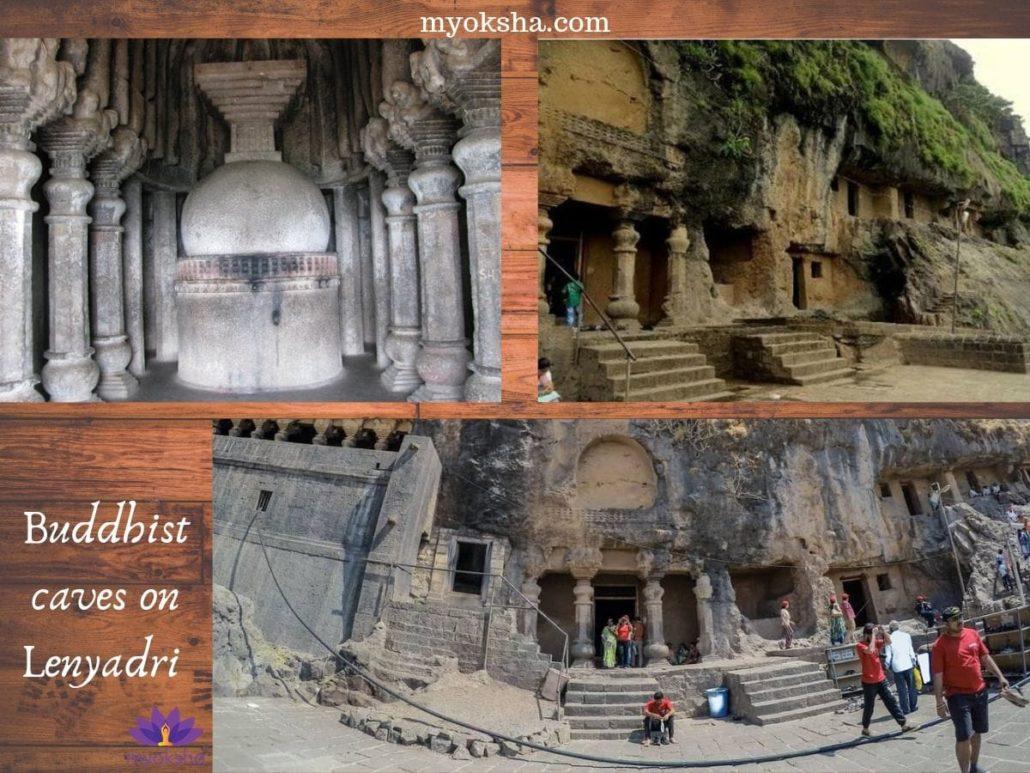 Buddhist caves on Lenyadri