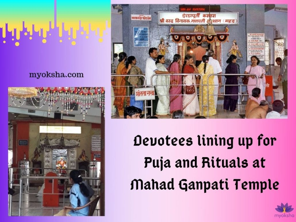 Puja and Rituals at Mahad Ganpati Temple