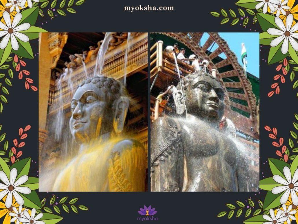 Dharmasthala Bahubali Abhishekam
