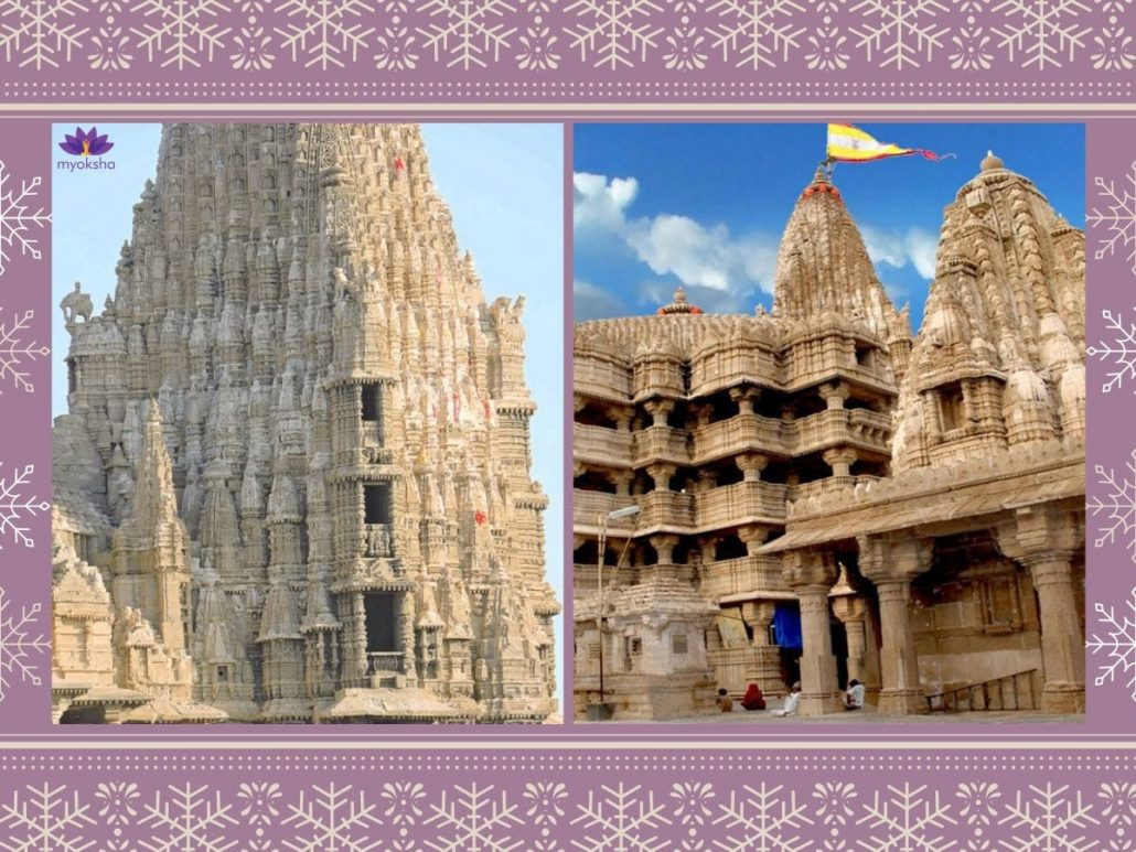 Dwarkadhish Temple Architecture