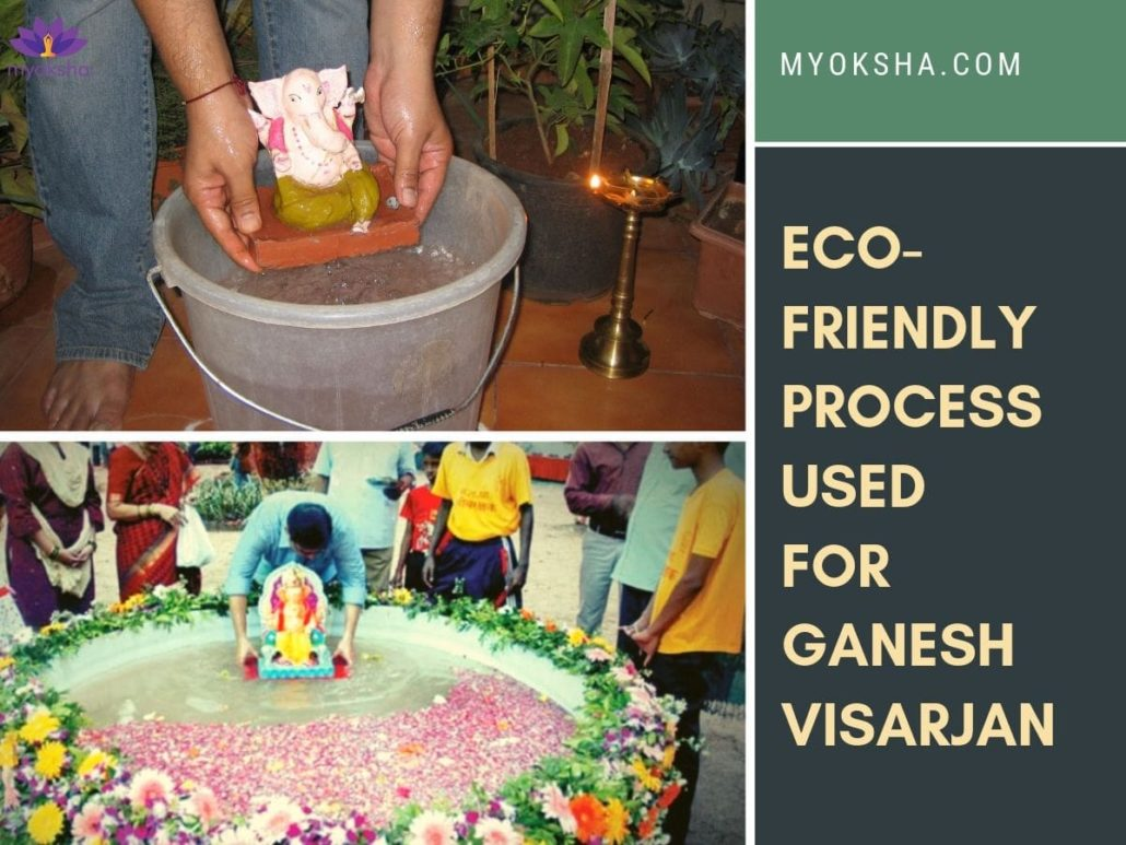 Eco-friendly Ganesh Visarjan