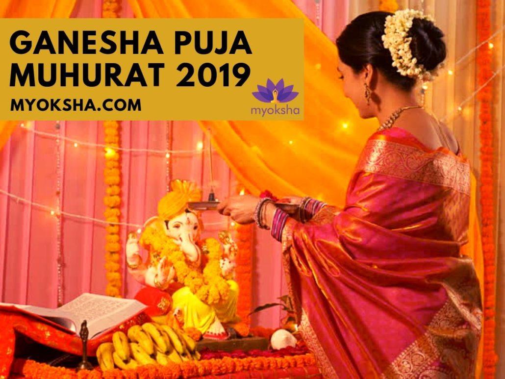Ganesh Chaturthi Pooja Muhurat