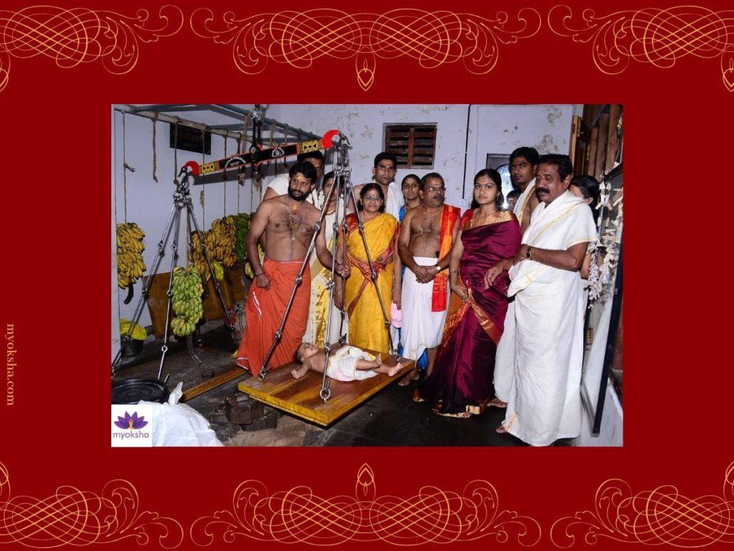Guruvayur Temple Thulabharam