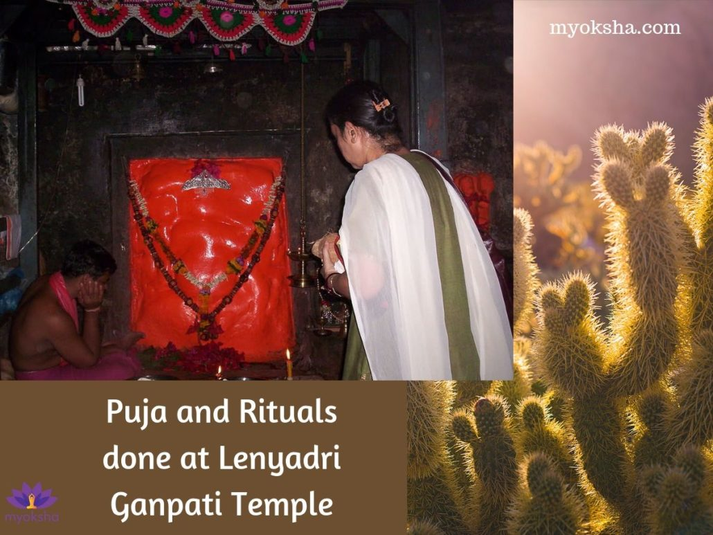 Puja and Rituals done at Lenyadri Ganpati Temple