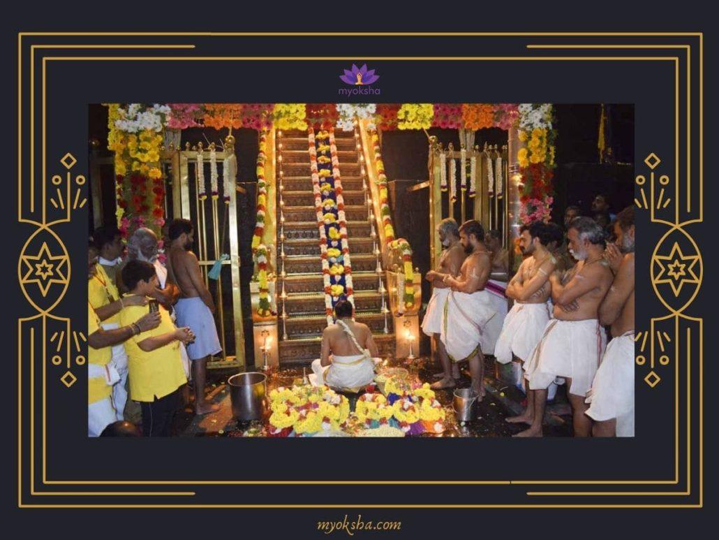 Sabarimala Temple Padi Pooja