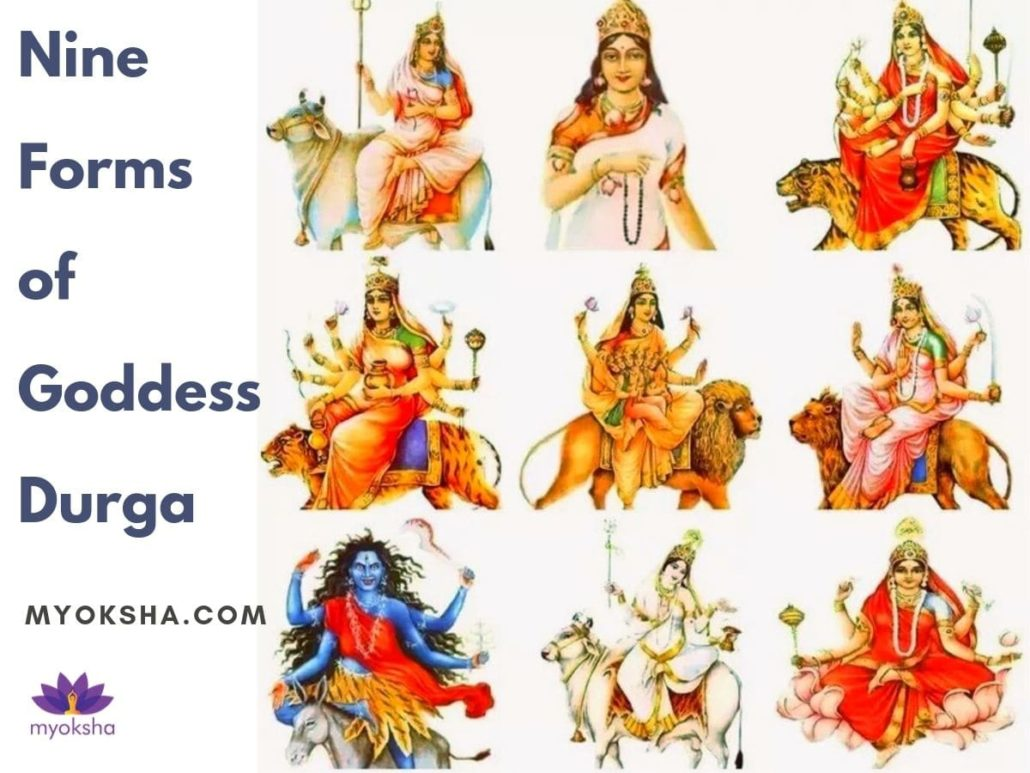 9 Forms of Durga on Navratri