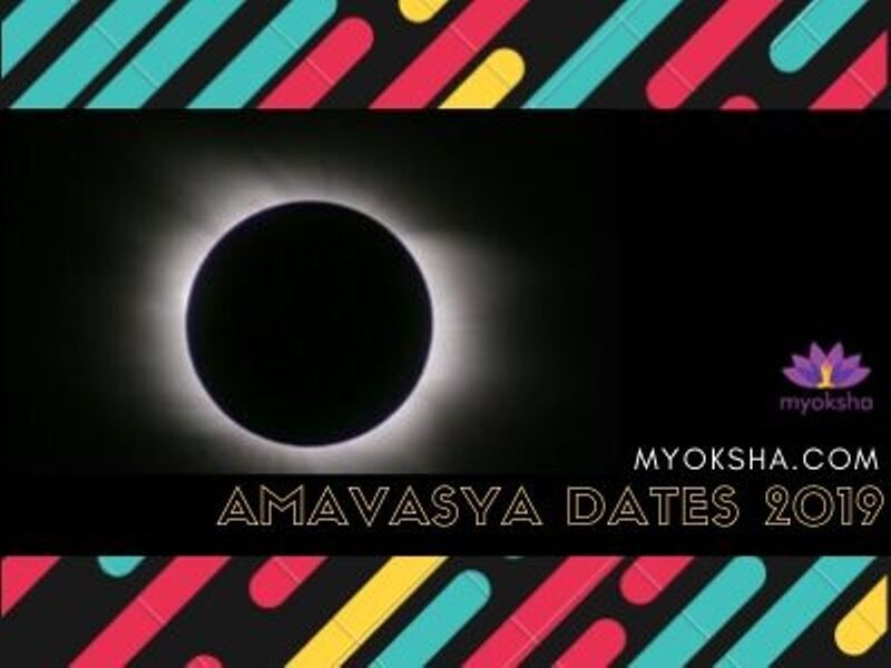 Amavasya Dates 2019